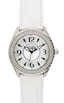Alviero Martini Prima Classe Women's PCD 924S/FB Stainless Steel Silver Dial White Crystal Watch