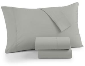 Sunham AirFeel Suvin Cotton 350 Thread Count 4-Pc. King Sheet Set Bedding
