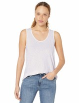 Michael Stars Womens One Size Shine Double Front Vee Neck Tank US 0-12