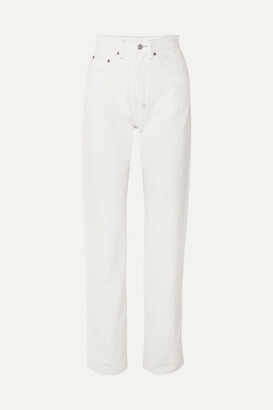 Ksubi Playback High-rise Straight-leg Jeans - White