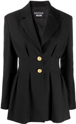Boutique Moschino Peplum Blazer Jacket