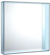 Kartell Only Me Mirror - Pale Blue - 50x50cm