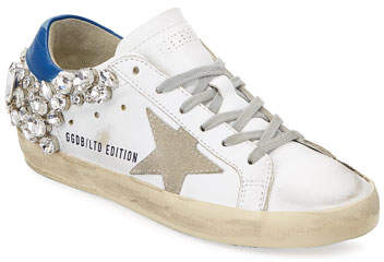 Golden Goose Superstar Embellished Star Sneaker