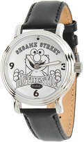 Sesame Street Womens Black Strap Watch-Wss000015