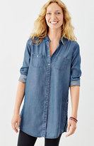 J. Jill Long Indigo Tunic