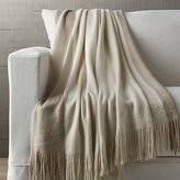 Crate & Barrel Tepi Natural Throw