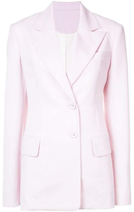 Proenza Schouler Single Breasted Wool Blazer