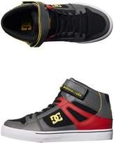 DC Youth Spartan High Se Ev Shoe Grey
