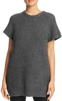DKNY Pure Ribbed Heathered Tunic