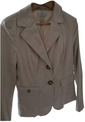 Marella Beige Denim - Jeans Jacket for Women