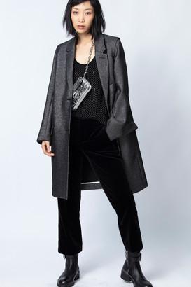 Zadig & Voltaire Marla Lurex Coat