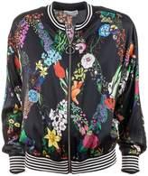 Ballantyne Floral Pattern Bomber Jacket