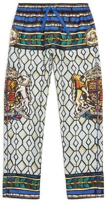 Dolce & Gabbana Kids Silk Trousers (2-6 Years)