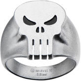 JCPenney FINE JEWELRY Marvel Punisher Skull Mens Stainless Steel Ring