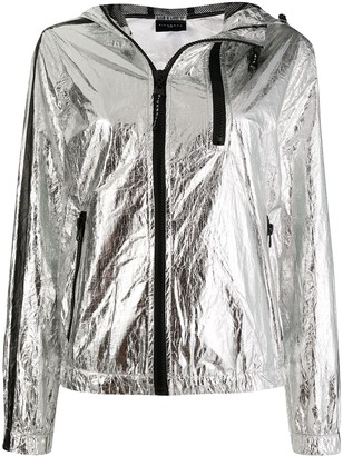 John Richmond Foil Effect Jacket