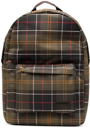 Barbour Plaid Check Backpack