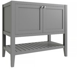 "CNC Costume National Cabinetry Vanguard 36"" Single Bathroom Vanity Base Only Cabinetry Base Finish: Dove Gray"