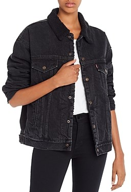 Levi's Dad Sherpa Lined Trucker Jacket