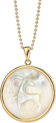 Ashley McCormick Capricorn 18K Gold Pendant