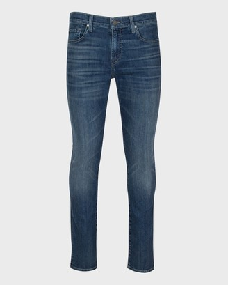 7 For All Mankind Airweft Paxtyn Skinny in Flash