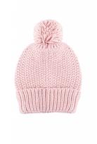 Quiz Pink Knit Pom Pom Hat