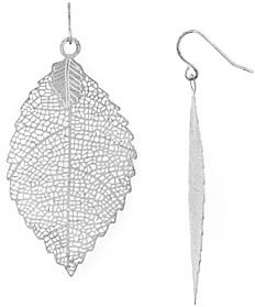 Area Stars Filigree Leaf Earrings