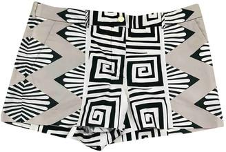 Diane von Furstenberg White Cotton Shorts