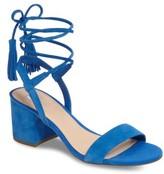 BP Women's Karla Block Heel Ankle Wrap Sandal