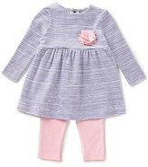 Joules Baby Girls Newborn-12 Months Christina Striped Long-Sleeve Top & Leggings Set