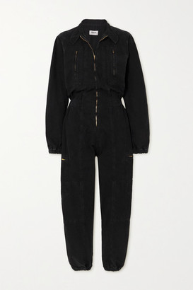 AGOLDE Marin Denim Jumpsuit - Black