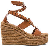 Jimmy Choo Leather Danica Wedges