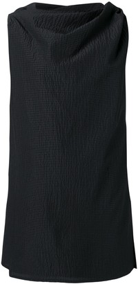 Rick Owens draped mini dress