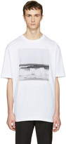 Raf Simons White Robert Mapplethorpe Edition Waves T-shirt