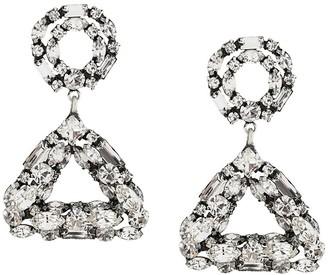 Dannijo Quinn crystal earrings