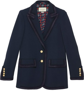 Gucci Single-Breasted Jacket