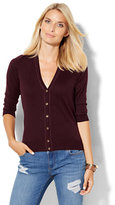 New York & Co. 7th Avenue Design Studio - V-Neck Chelsea Cardigan - Tall
