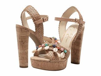 Jessica Simpson Women's Ivriele Platform Sandal Heeled