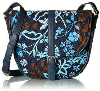 Vera Bradley Java Floral Slim-Saddle