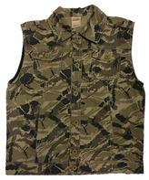 Dark Khaki Camo Vest - Boys
