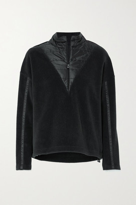 Bogner Duana Fleece And Quilted Shell Sweatshirt - Black