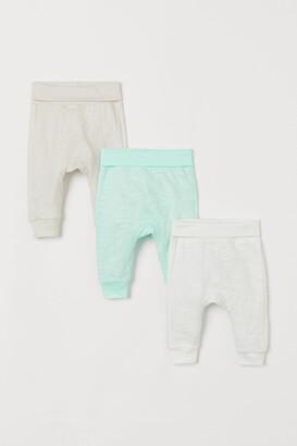 H&M 3-pack Cotton Pants