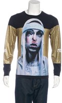 Hood by Air Glitter Printed T-Shirt