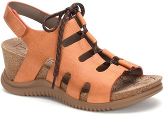 bionica Ghillie Leather Wedges - Sorena