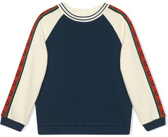 Gucci Kids sweatshirt with Interlocking G