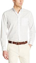 Dockers Long-Sleeve No-Wrinkle Grid Button Down-Collar Shirt