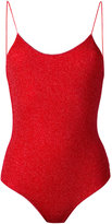 Oseree - lurex swimsuit - women - Polyamide/Polyester/Spandex/Elastane - M