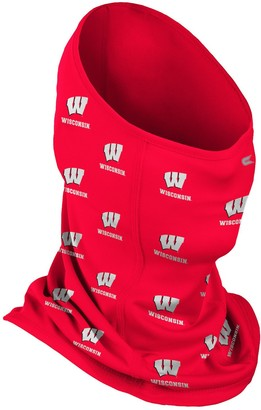 Colosseum Adult Wisconsin Badgers Neck Gaiter Face Mask