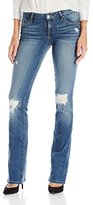 GUESS Women's Tailored Mini Bootcut Jean in Gateview Wash