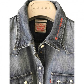 Levi's Made & Crafted Blue Denim - Jeans Top for Women