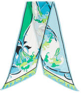 Emilio Pucci Abstract Print Stole